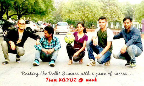 VAYuzers - Beating the Delhi Sun