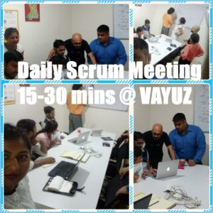 VAYUZ Scrum Meeting_Daily Scrum